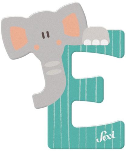 Sevi Fa betűk #állatos E zöld