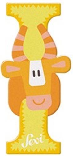 Sevi Fa betűk #állatos I sárga új