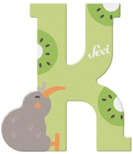 Sevi Fa betűk #állatos K zöld