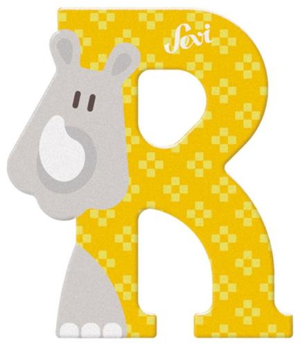 Sevi Fa betűk #állatos R sárga #81618