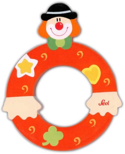 Sevi Fa betűk #bohócos O narancssárga