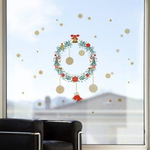 Crearreda Ablakdekor Karácsonyi Karácsonyfadísz #96003
