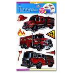 Marko Falidekor 3D Tűzoltóautók #SLK 1056