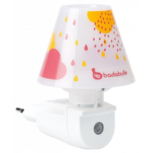 Badabulle éjjeli fény lámpa piros #B015010