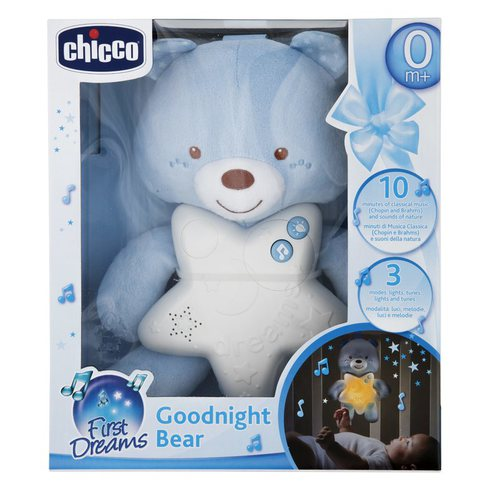 Chicco Goodnight Mackó kék #CH00915620