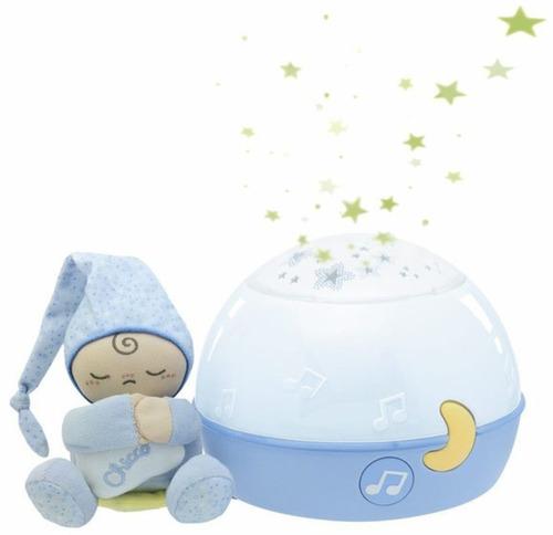 Chicco Zenélő Csillagok Projektor és Éjszakai lámpa #Kék #CH0024272