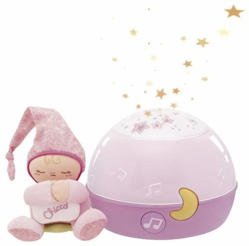 Chicco Zenélő Csillagok Projektor és Éjszakai lámpa #Rózsaszín #CH0024271