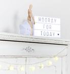 Little Lovely Company Lightbox A4 Fehér #LLC-LTBW032