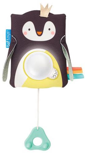 Taftoys zenélő éjszakai fény hangérzékelővel #Prince pingvin #12275