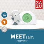 Zazu Éjjelifény és ébresztőóra SAM #szürke #ZA-SAM-01