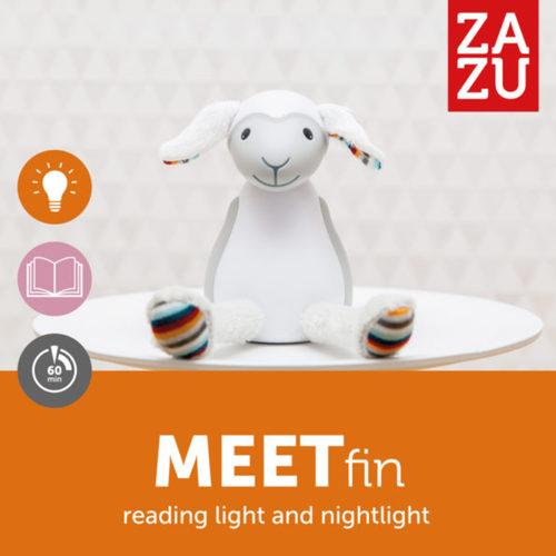 Zazu Olvasó lámpa Fin #szürke #ZA-FIN-01 Új