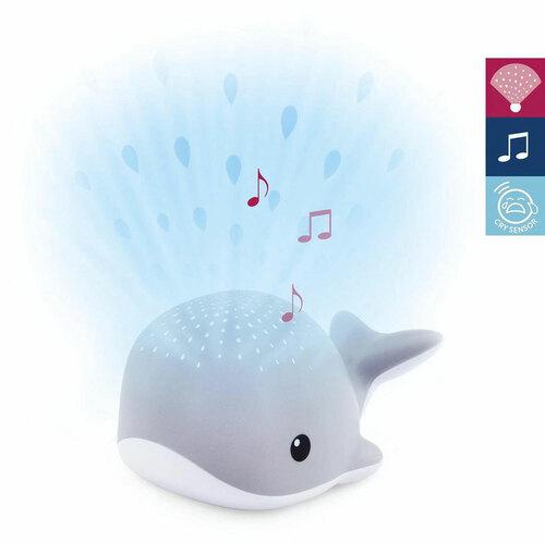 Zazu Projektor dallamokkal #WALLY bálna szürke #ZA-WALLY-01