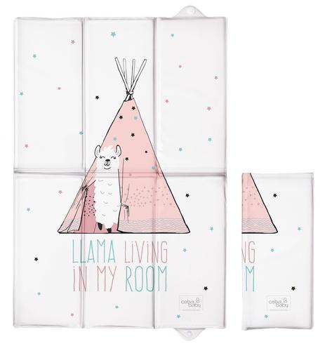 Ceba összehajtható pelenkázólap #60x40 #Lolly Polly Lama