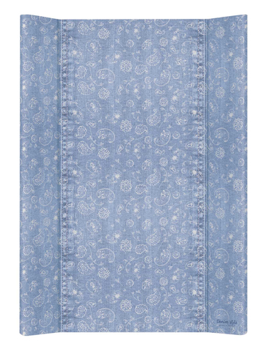 Ceba pelenkázólap merev #2 oldalú #50x70 #DENIM Style #Boho Kék
