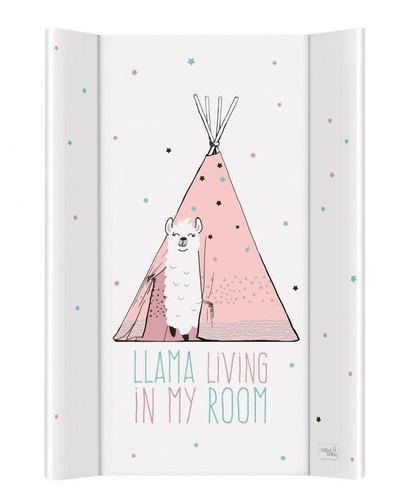 Ceba pelenkázólap merev #2 oldalú #50x70 #Lolly Polly Lama