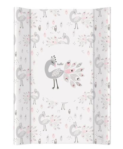 Ceba pelenkázólap merev #2 oldalú #50x70 #Lolly Polly Peacock