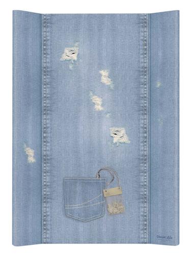 Ceba pelenkázólap puha #2 oldalú #50x70 #DENIM Style #Shabby Kék