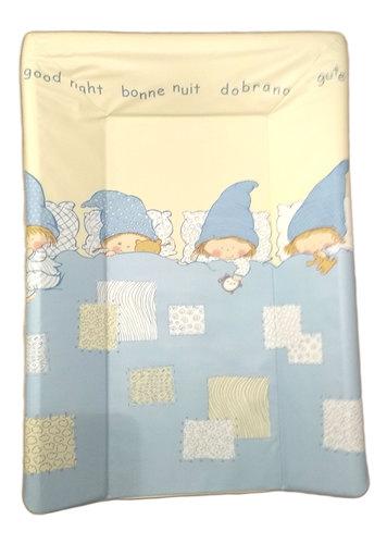 Ceba pelenkázólap puha #3 oldalú #50x70 #Goodnight kék #329277