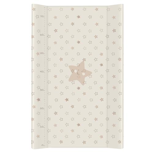 Ceba pelenkázólap puha #2 oldalú #50x70 #Csillag beige