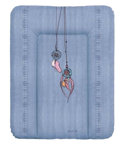 Ceba pelenkázólap puha #50x70 #DENIM Style #Álomfogó Kék