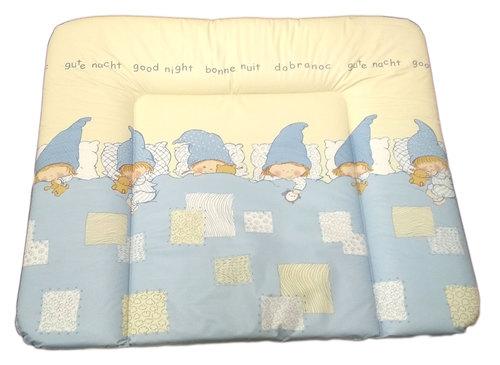 Ceba pelenkázólap puha #85x70 #Goodnight kék #329253