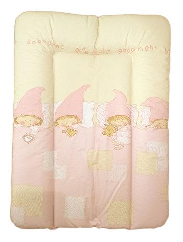 Ceba pelenkázólap puha kicsi #50x70 #Goodnight rózsaszín #329260