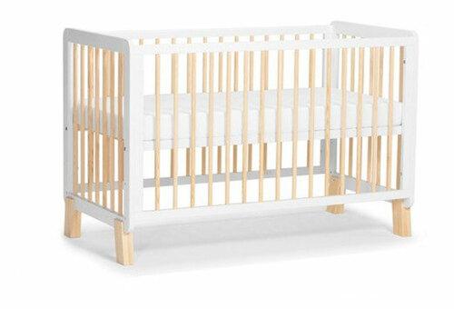 Kinderkraft Lunky fa kiságy #fehér