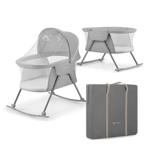 Kinderkraft LOVI bölcső, ágy és utazóágy #grey