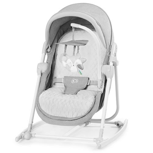 Kinderkraft UNIMO 5 in 1 bölcső-babaágy-hinta-pihenőszék-szék stone grey