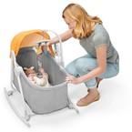 Kinderkraft UNIMO 5 in 1 bölcső-babaágy-hinta-pihenőszék-szék yellow 2020