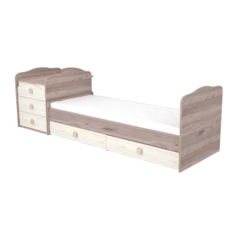Timba Viki maxi kombi ágy 5 fiókos krém-fűz  00005FMAXIKF1 ... 5d38c4a9b0