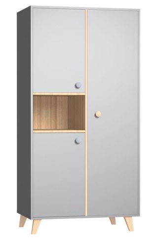 Faktum Colette Szürke 2 osztású szekrény #22290800