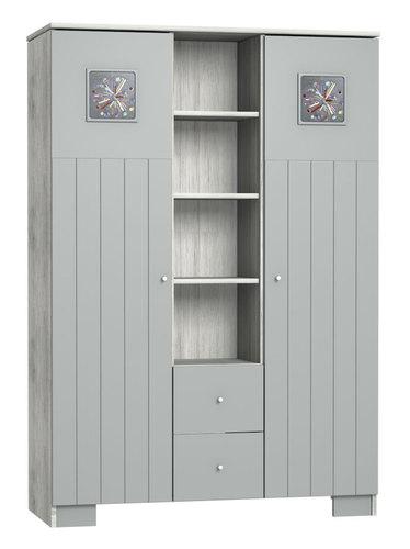 Faktum Kamilla Polar 3 osztású szekrény #15013604