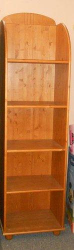 Kiállított Faktum Tomi polcos keskeny szekrény #cseresznye
