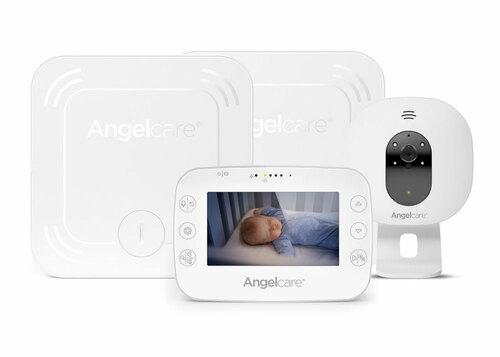 Angelcare AC327 Légzésfigyelő és kamerás bébiőrző #AC327-2SP