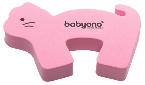 Babyono ajtóbecsapódás gátló #1db #rózsaszín-cica #958-403655