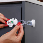 Dreambaby Multifunkciós öntapadó zár EZY-Check kijelzővel #800