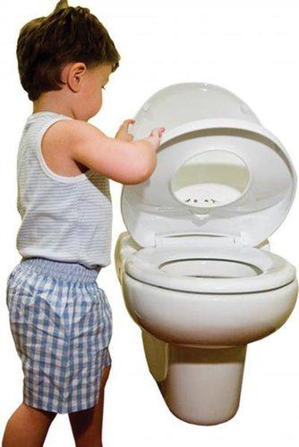 Kombinált felnőtt-gyerek wc ülőke lecsapódás gátlóval #4003