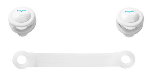 Babyono Univerzális zár 2 darabos #fehér #953