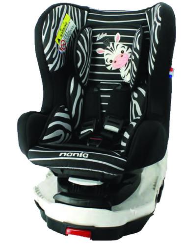 Nania Titan Autósülés 0-18kg #Animals Zebra