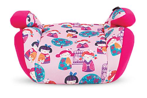 Kikkaboo ülésmagasító 15-36 kg #Jazzy Dolls pink