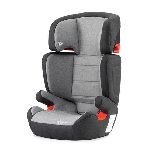 Kinderkraft JUNIOR FIX ISOFIX autósülés 15-36 kg #black-grey