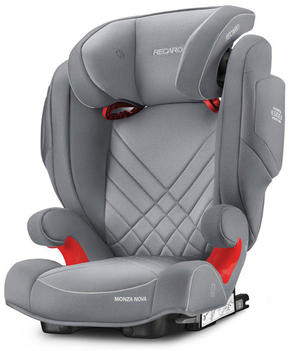 Recaro Monza Nova 2 Seatfix gyerekülés #Aluminium Grey #6151.21503.66
