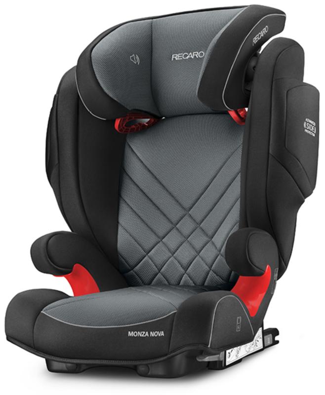 Recaro Monza Nova 2 Seatfix gyerekülés  Carbon Black  6151.21502.66 ... 452f85000b