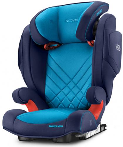 Recaro Monza Nova 2 Seatfix gyerekülés #Xenon Blue #6151.21504.66