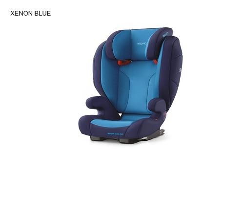 Recaro Monza Nova Evo Seatfix autósülés #Xenon Blue #6159.21504.66