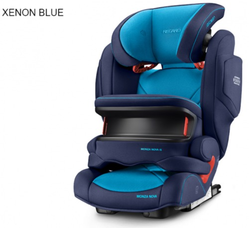Recaro Monza Nova IS Seatfix autósülés #Xenon Blue #6148.215.21509.66