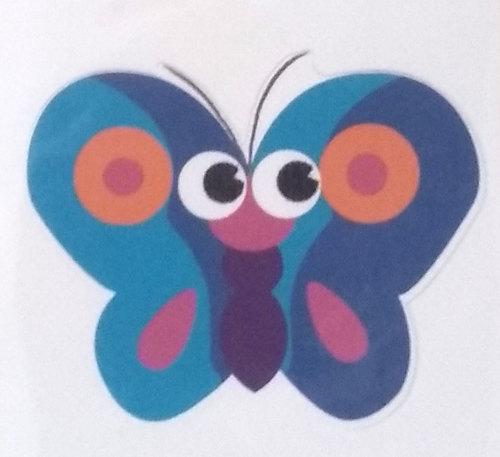 Óvodai jelkészlet 16 darabos #Pillangó kék