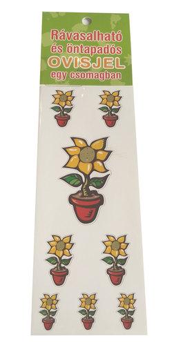 Óvodai jelkészlet 16 darabos #Virág cserepes