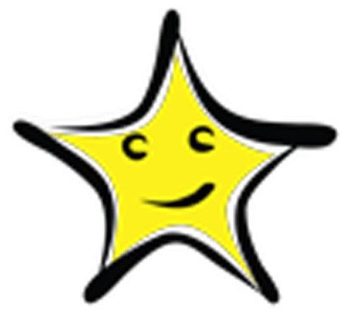 Óvodai jelkészlet 16 darabos #Csillag sárga
